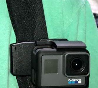 GoPro用に「ボール関節マウントアダプター」というのを買ってみました